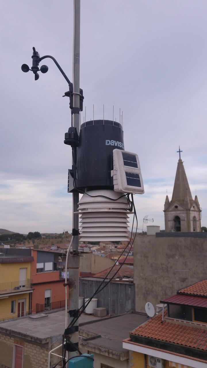 Visita ad una stazione meteo - Strumentazione esterna