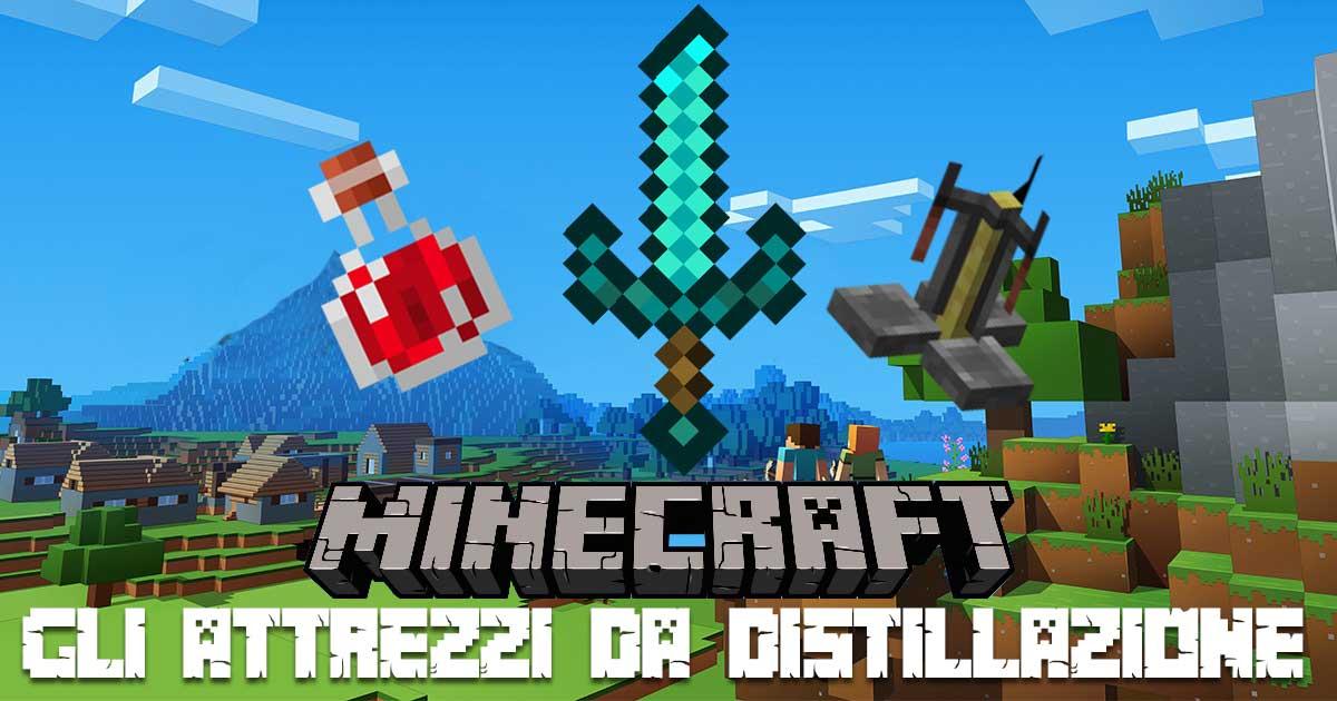 Gli Attrezzi Da Distillazione Su Minecraft