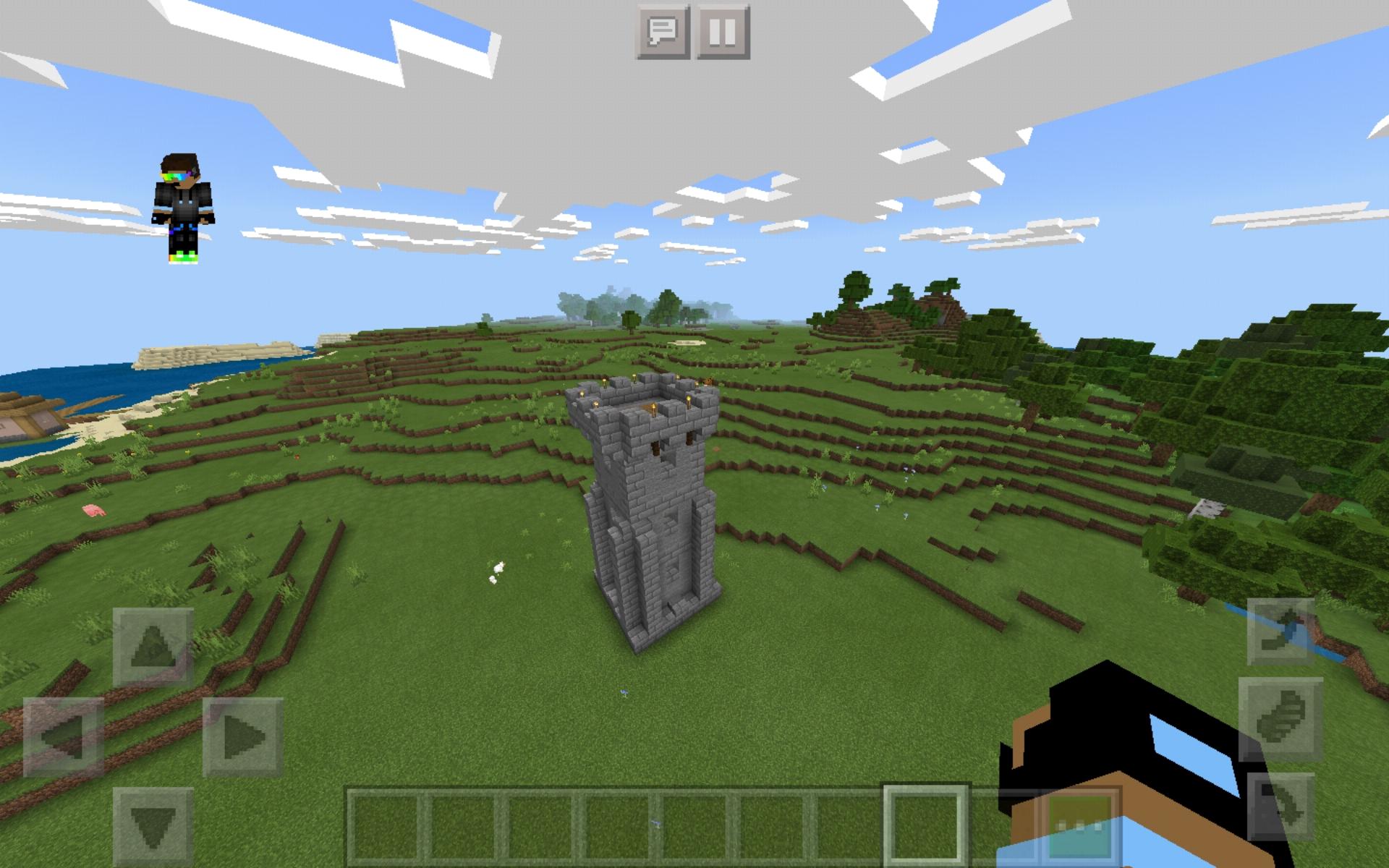 Torre Medievale Su Minecraft