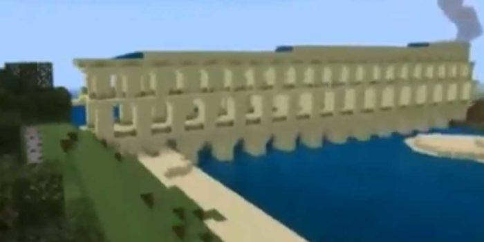 Ponte Romano Su Minecraft