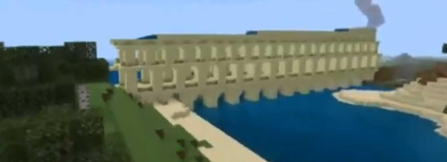 Ponte Romano In Minecraft